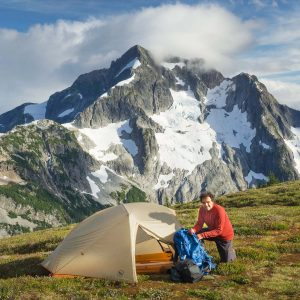 Backcountry Camp North Cascades National Park