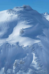 Backcountry skiing North Cascades Washington