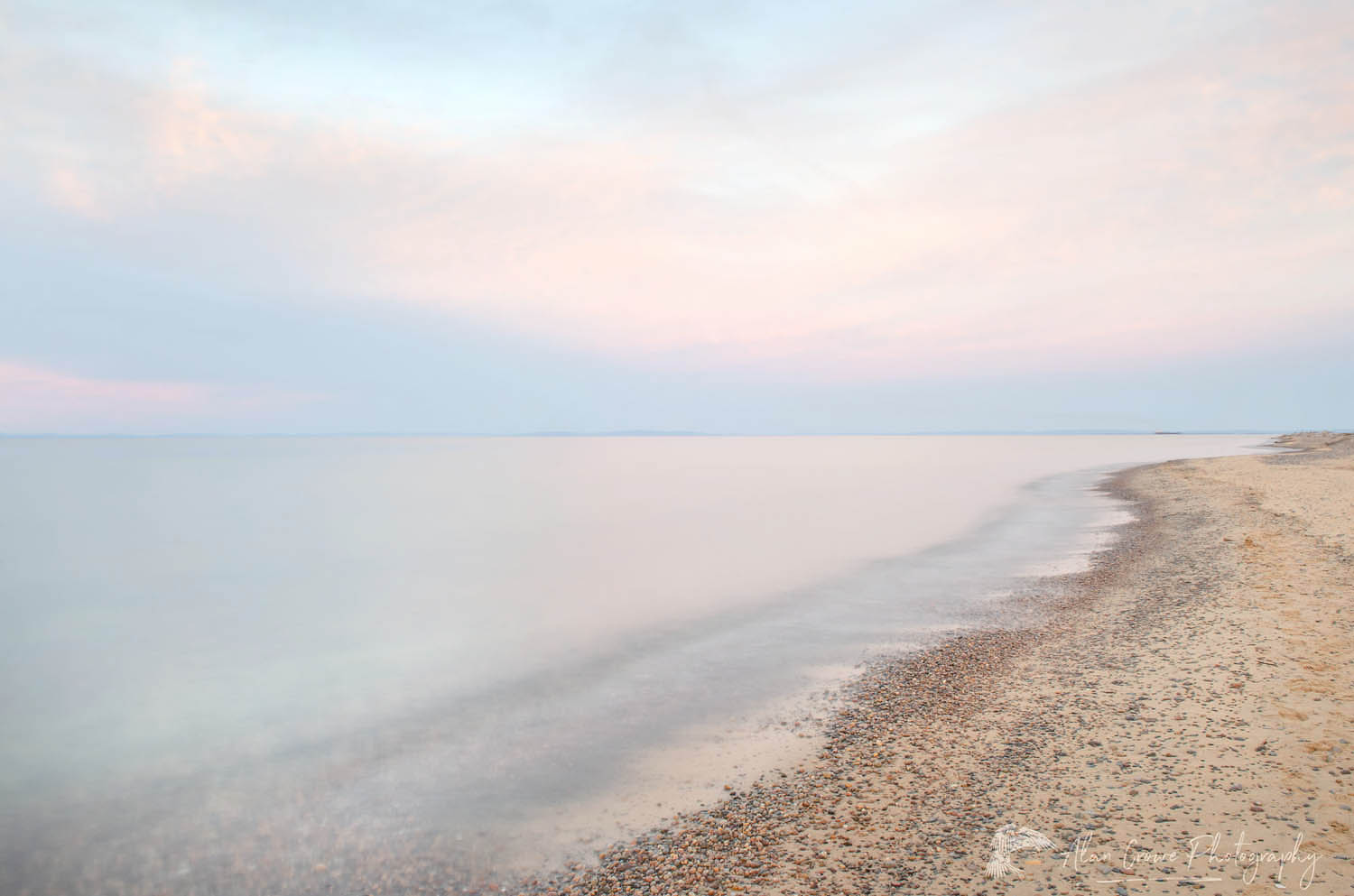 Lake Superior Whitefish Point, Michigan Minimalist Photography Gallery