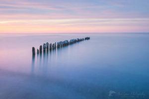 Lake Superior twilight Whitefish Point, Michigan