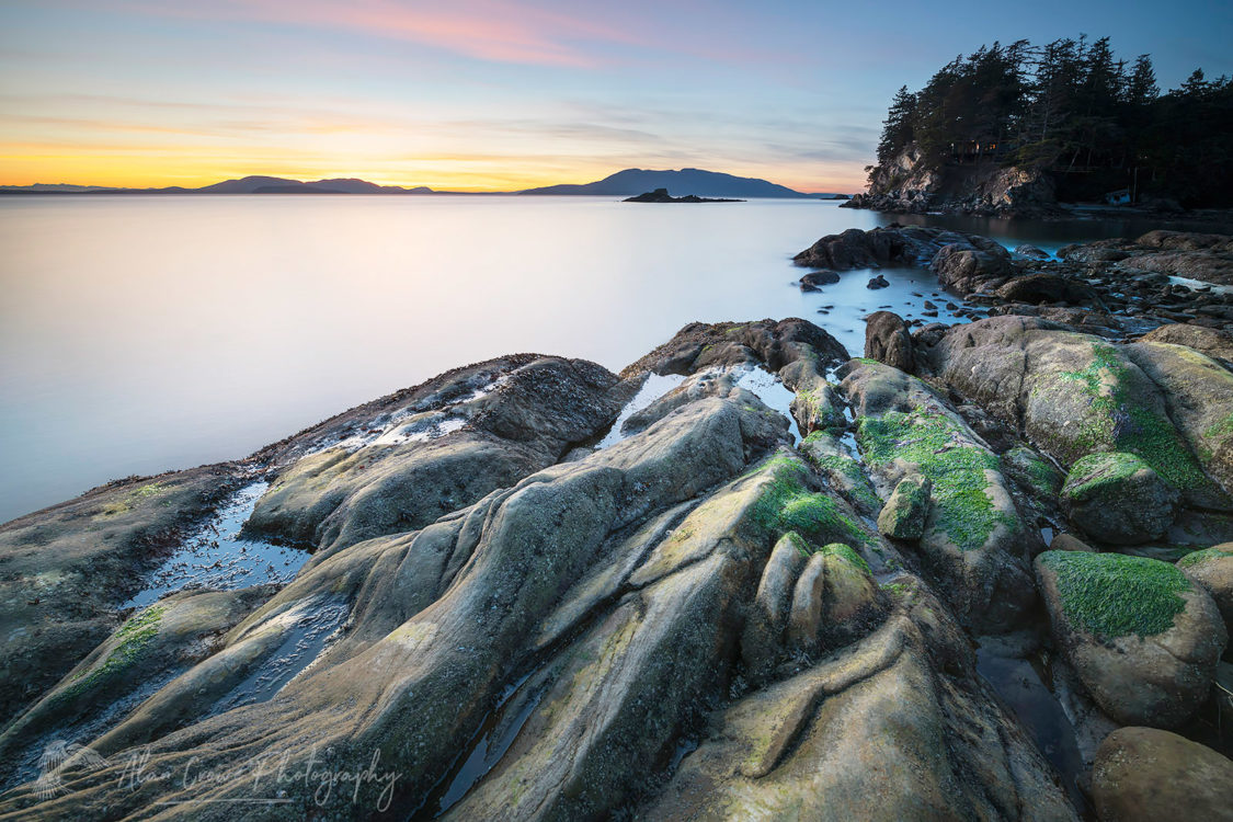 Wildcat Cove Samish Bay Larrabee State Park Washington