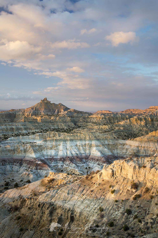 Angel Peak Scenic Area, New Mexico