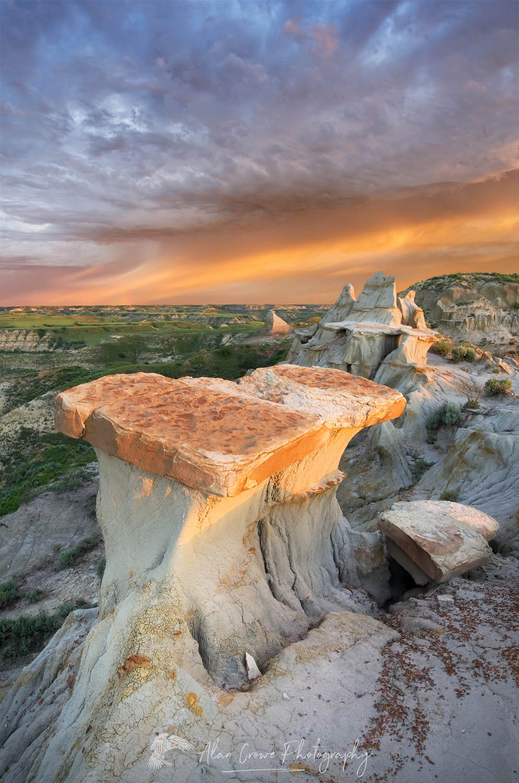 Dawn over Theodore Roosevelt National Park, North Dakota