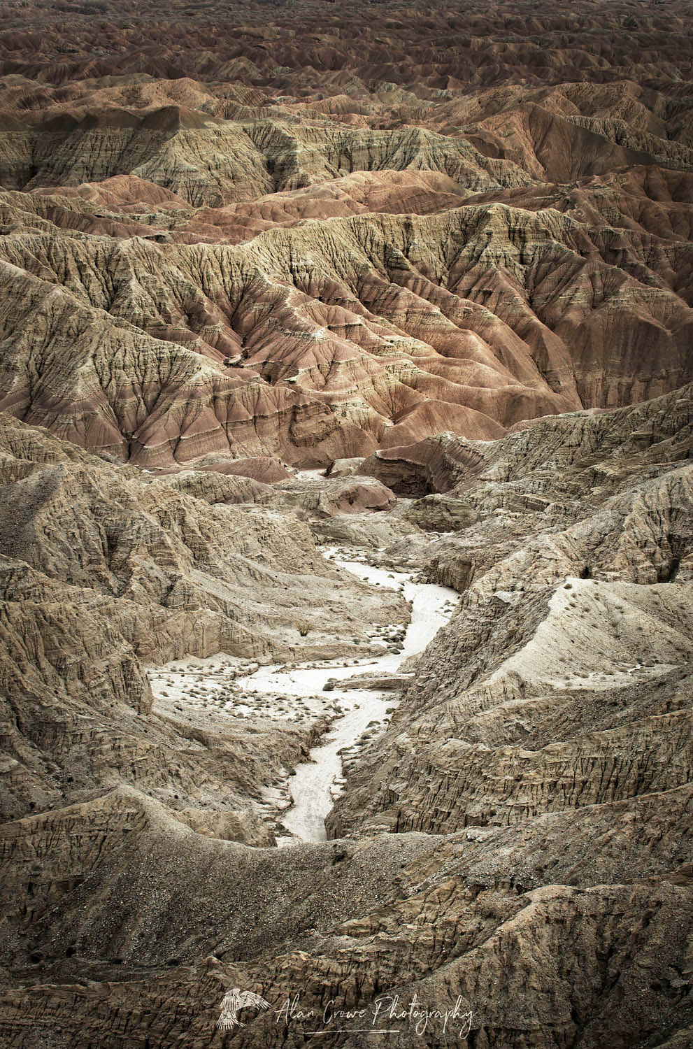 Borrego Badlands, California