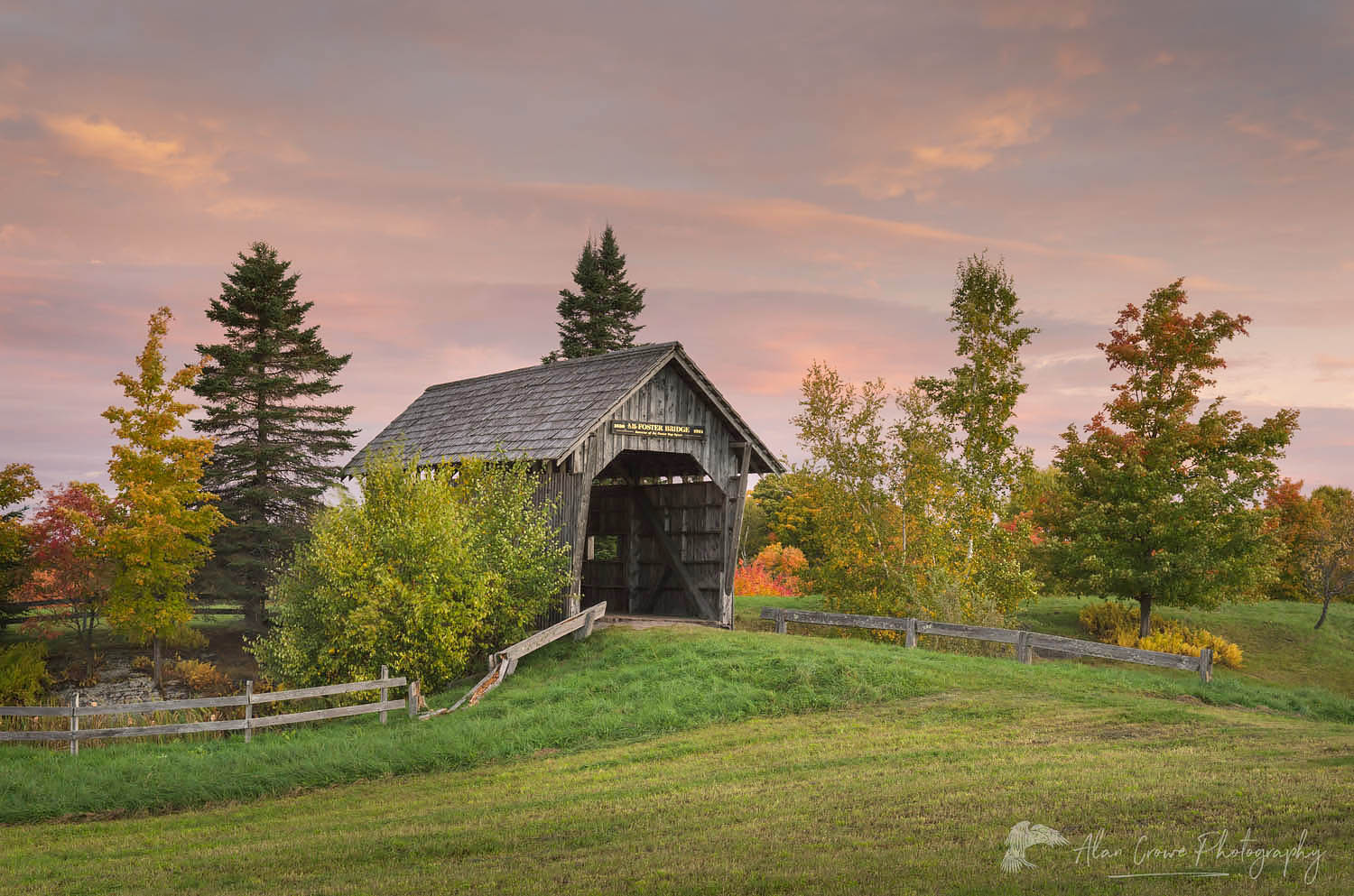 Foster Covered Bridge, Vermont