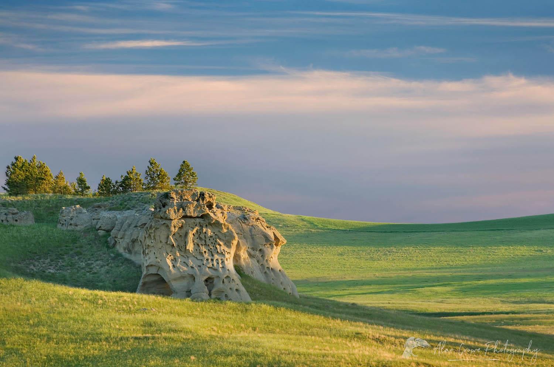 Medicine Rocks State Park in SE Montana