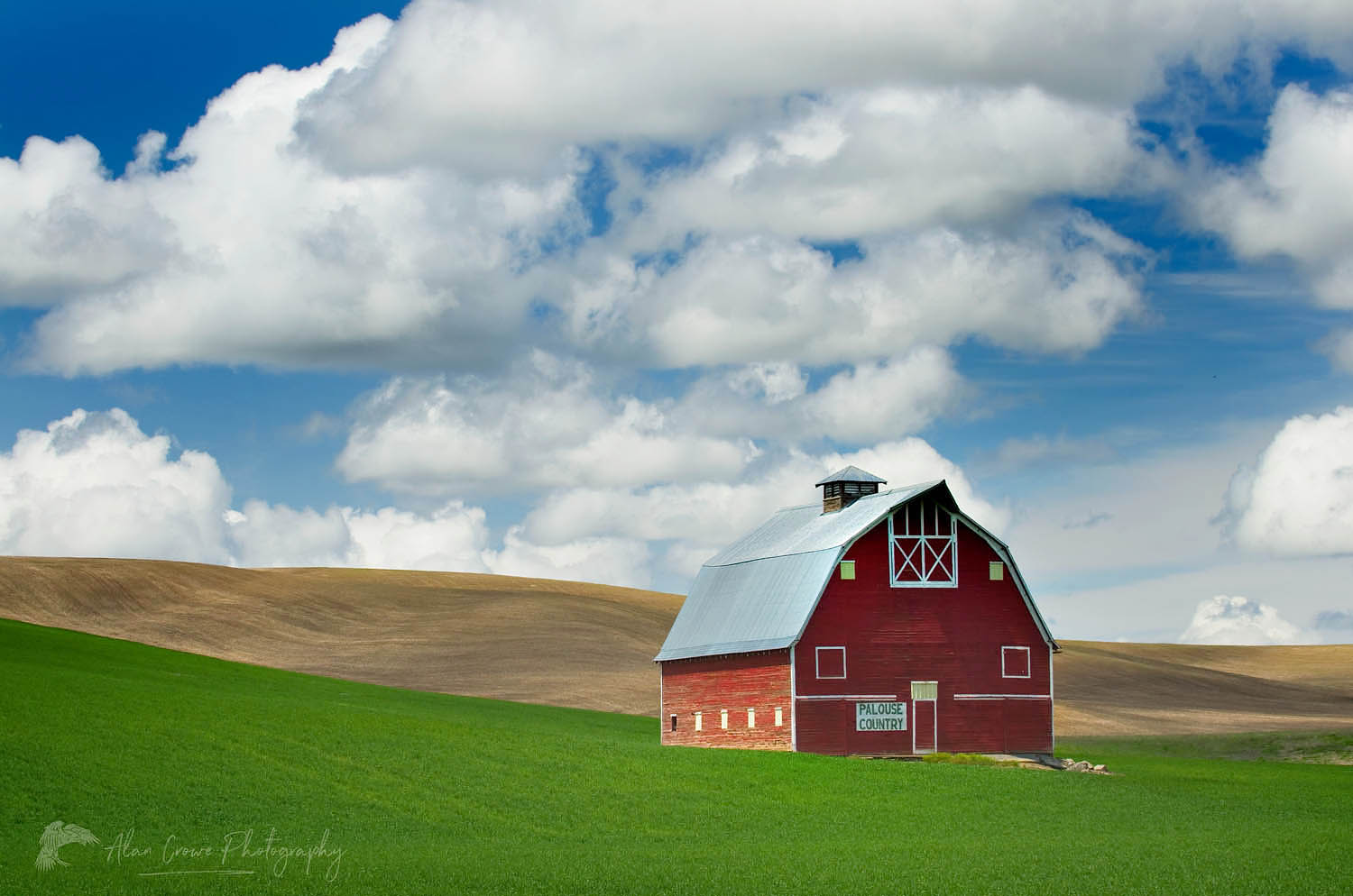 Red Barn Palouse Washington