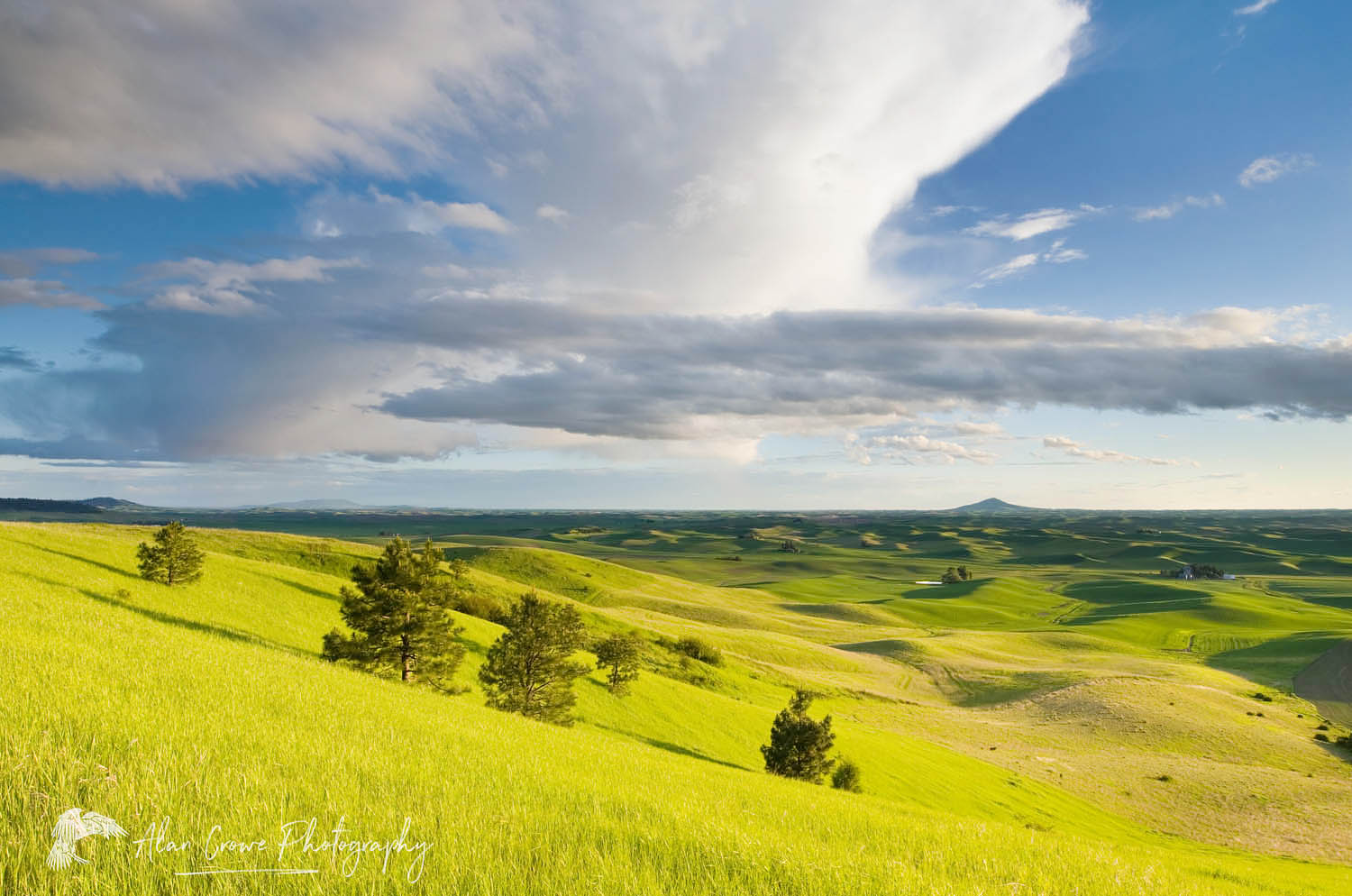 Clouds over the Palouse Washington