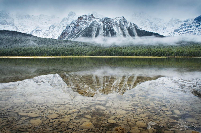 Upper Waterfowl Lake, Banff National Park