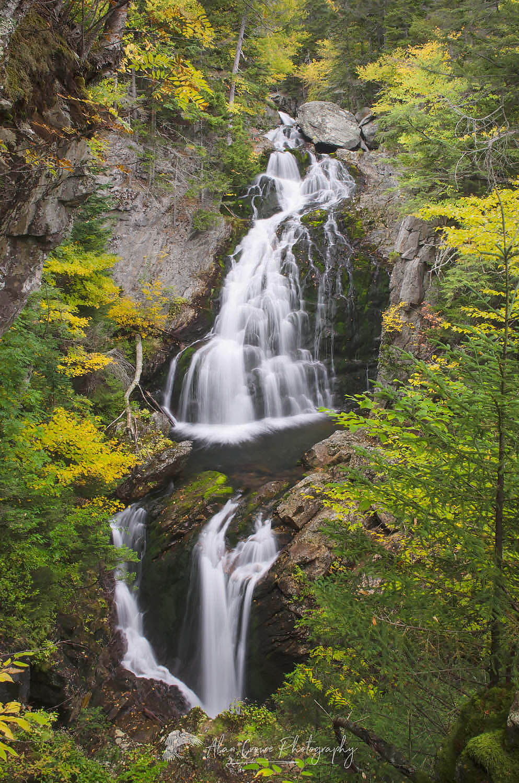 Crystal Cascade New Hampshire