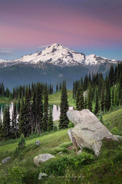 Glacier Peak Image Lake North Cascades