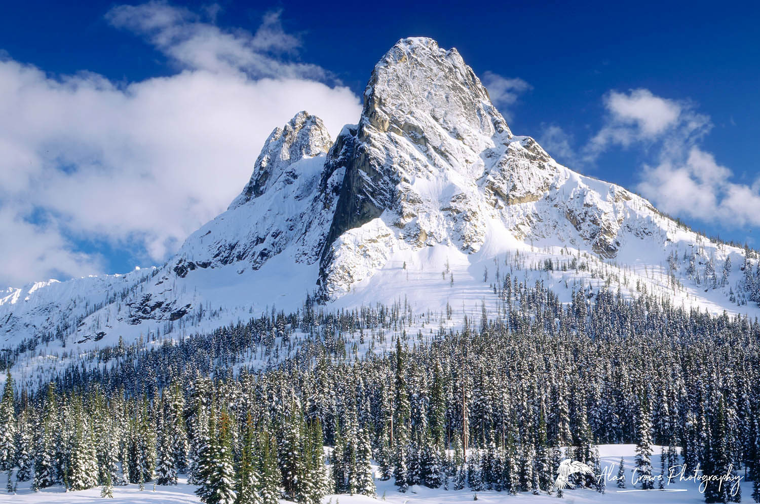 Liberty Bell Mountain, North Cascades