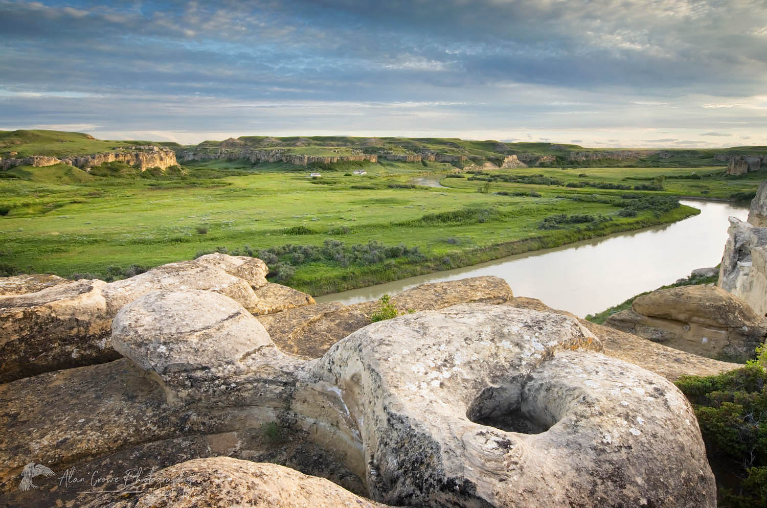 Writing on Stone Provincial Park Alberta