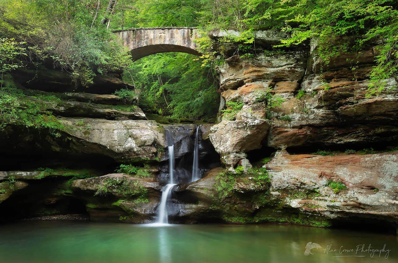 Old Man's Cave Upper Falls Ohio