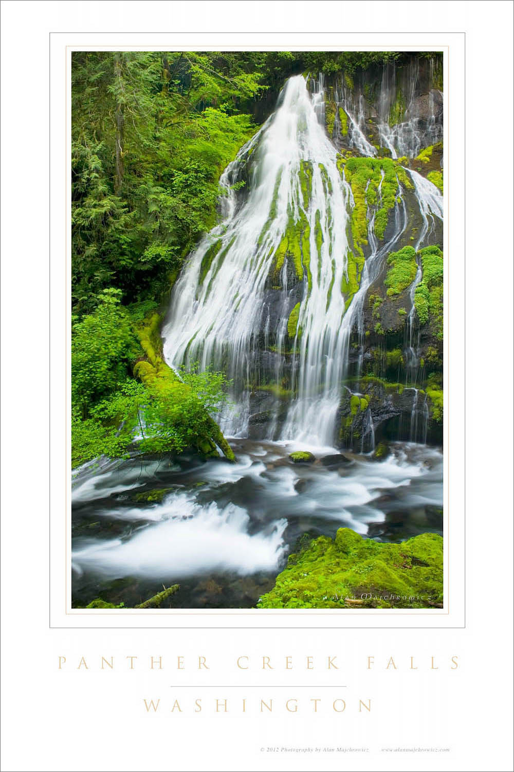 Panther Creek Falls Washington