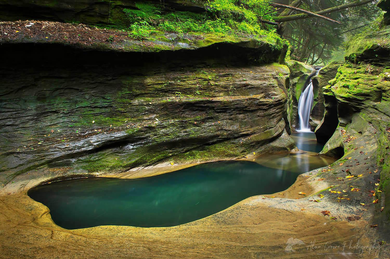 Robinson Falls Hocking Hills Ohio