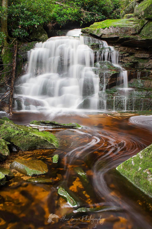Second Elakala Falls West Virginia