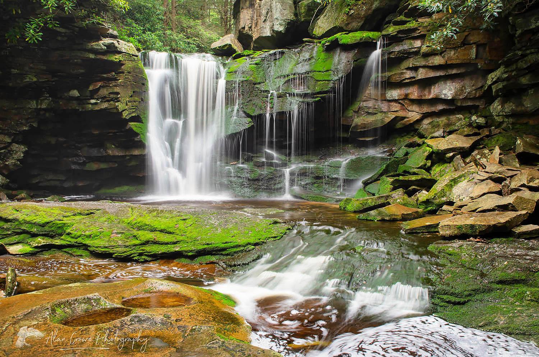 Elakala Falls Blackwater Falls State Park