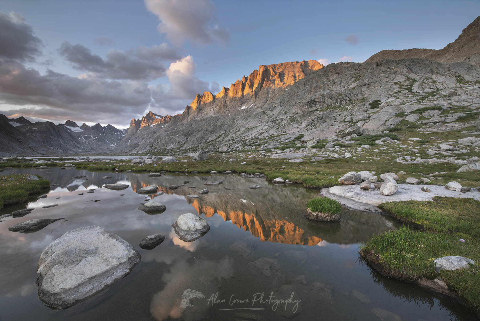 Titcomb Basin. Wind River Range, Bridger Wilderness Wyoming