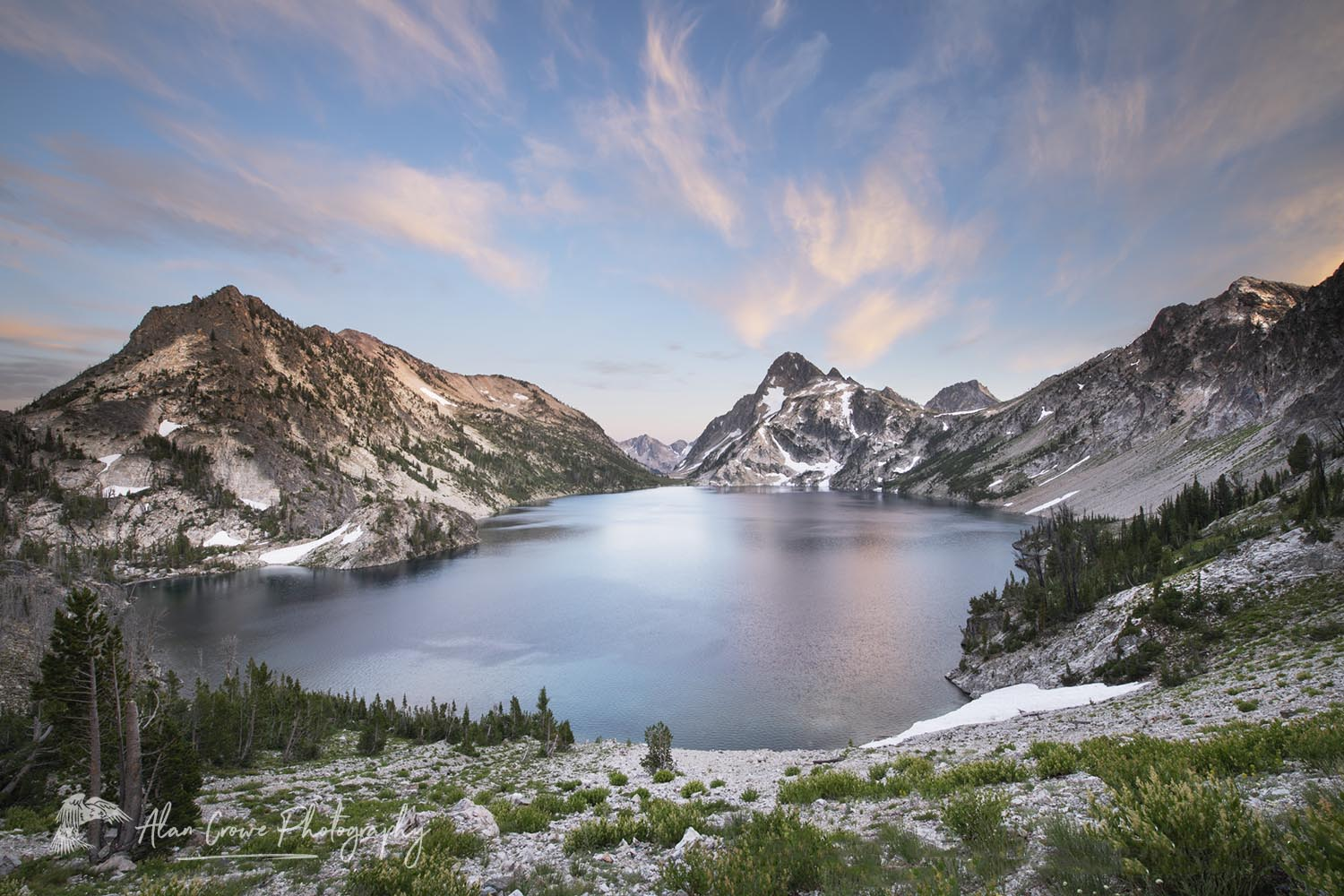 Sawtooth Lake Sawtooth Wilderness Idaho Photo Update: Sawtooth Mountains