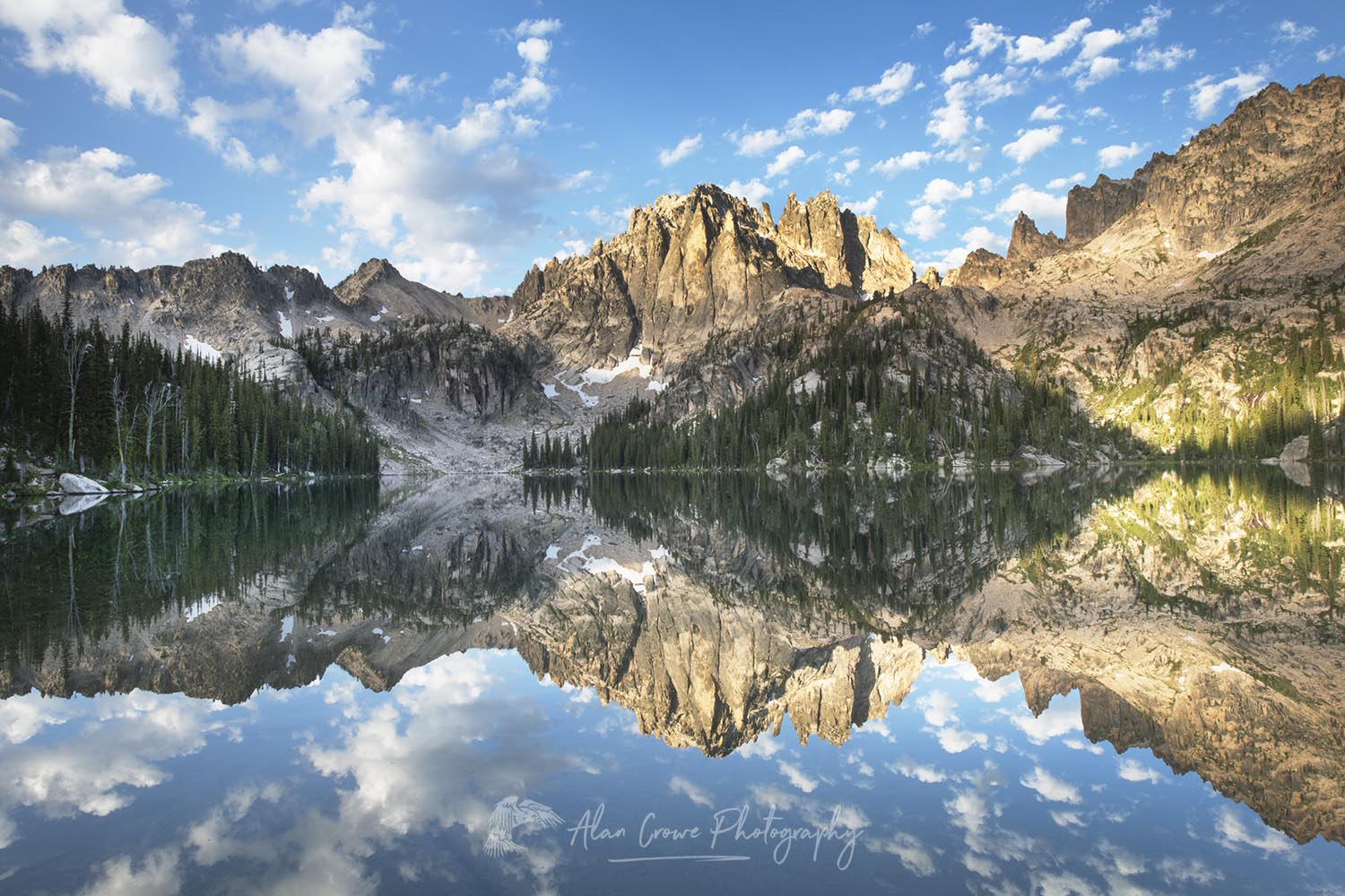 Baron Lake, Sawtooth Wilderness Idaho Photo Update: Sawtooth Mountains