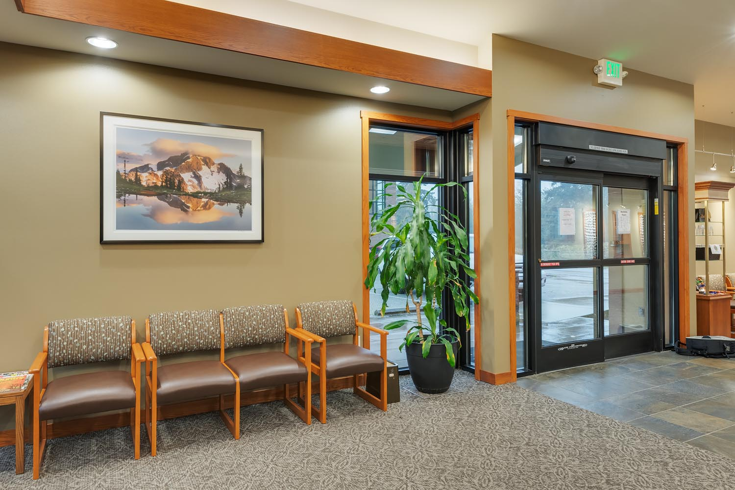 Healthcare Fine Art Prints Mount Baker Vision Clinic Fine Art Healthcare Installation