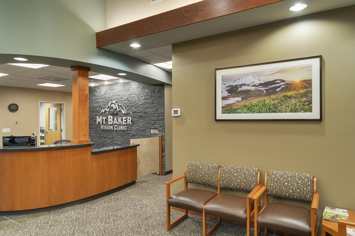 Healthcare Fine Art Prints Mount Baker Vision Clinic