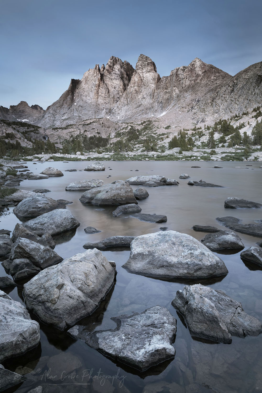Mount Bonneville Wind River Range Wyoming
