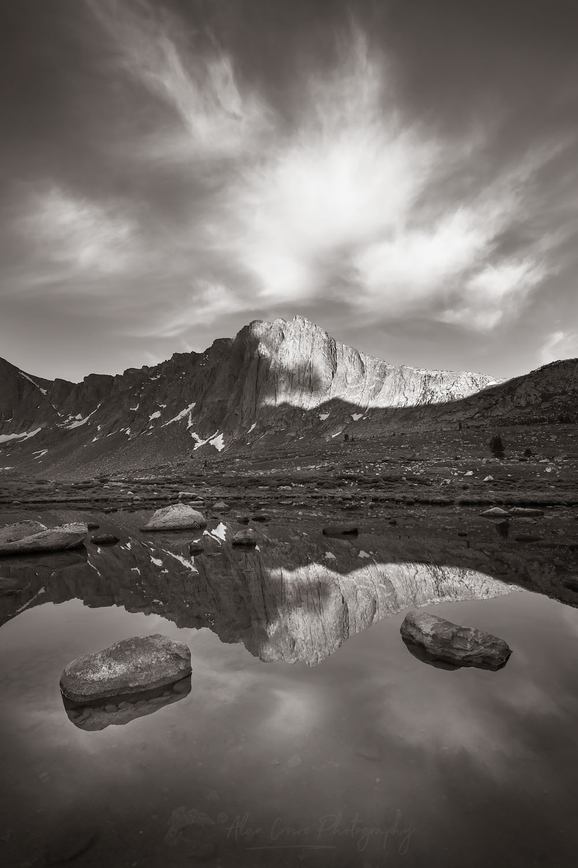 Dragon Head Peaks Wind River Range