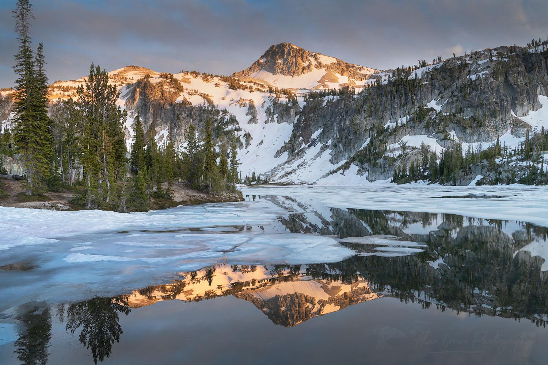 Eagle Cap and Mirror Lake Eagle Cap Wilderness Orergon