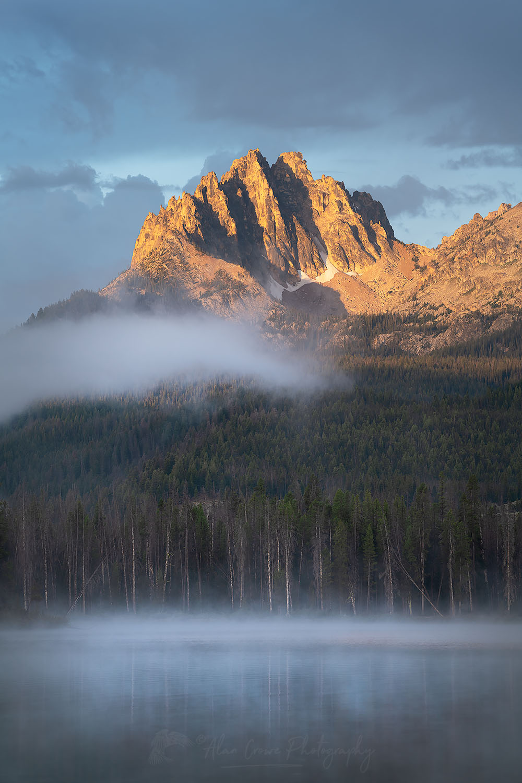 Little Redfish Lake Sawtooth Mountains Idaho