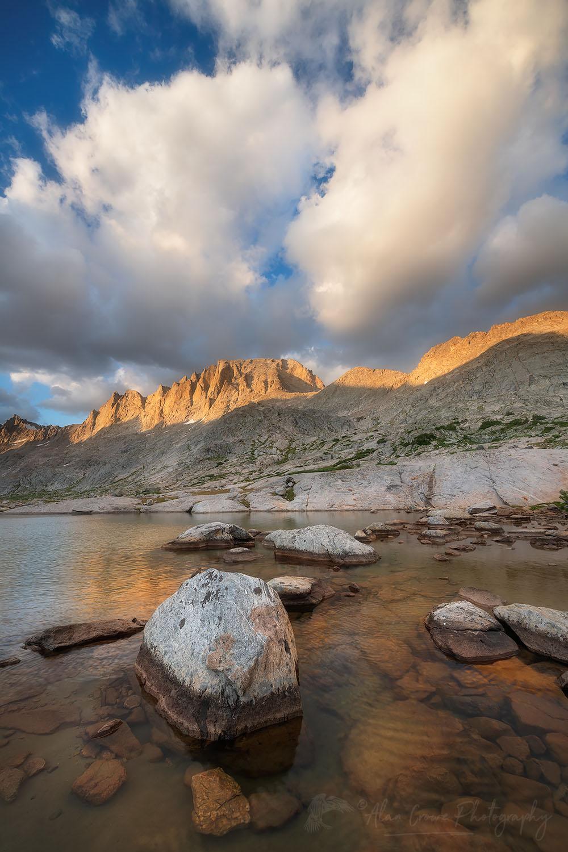 Titcomb Basin Wind River Range Wyoming